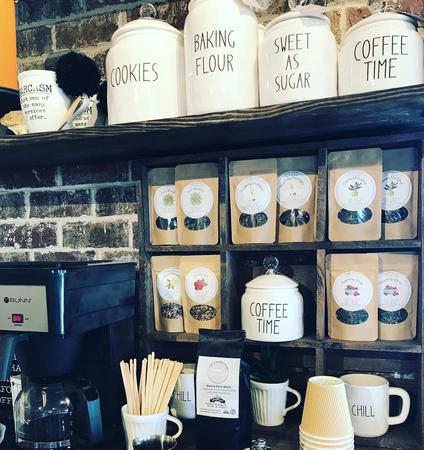The Farmhouse proudly serves fresh coffee in-store daily.