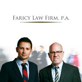 Faricy Law Firm, P.A. - ad image
