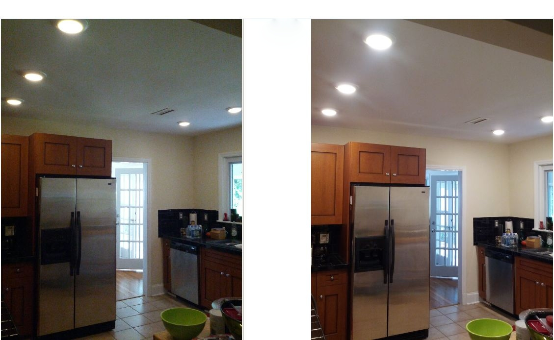 LED Lighting can be dimmed to as little as 5%. King Electrical Services, Inc. specializes in LED lighting design and installation.