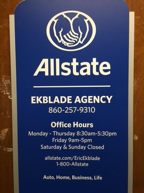 Eric Ekblade: Allstate Insurance