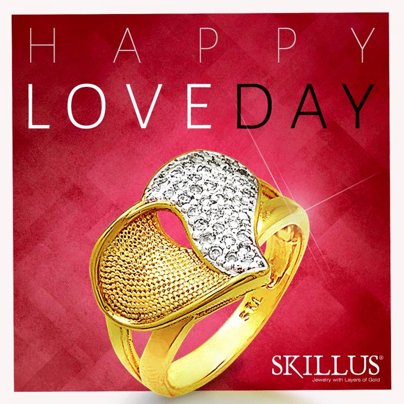 Skillus Real Gold Layered Jewelry Oro Laminado 18kt In