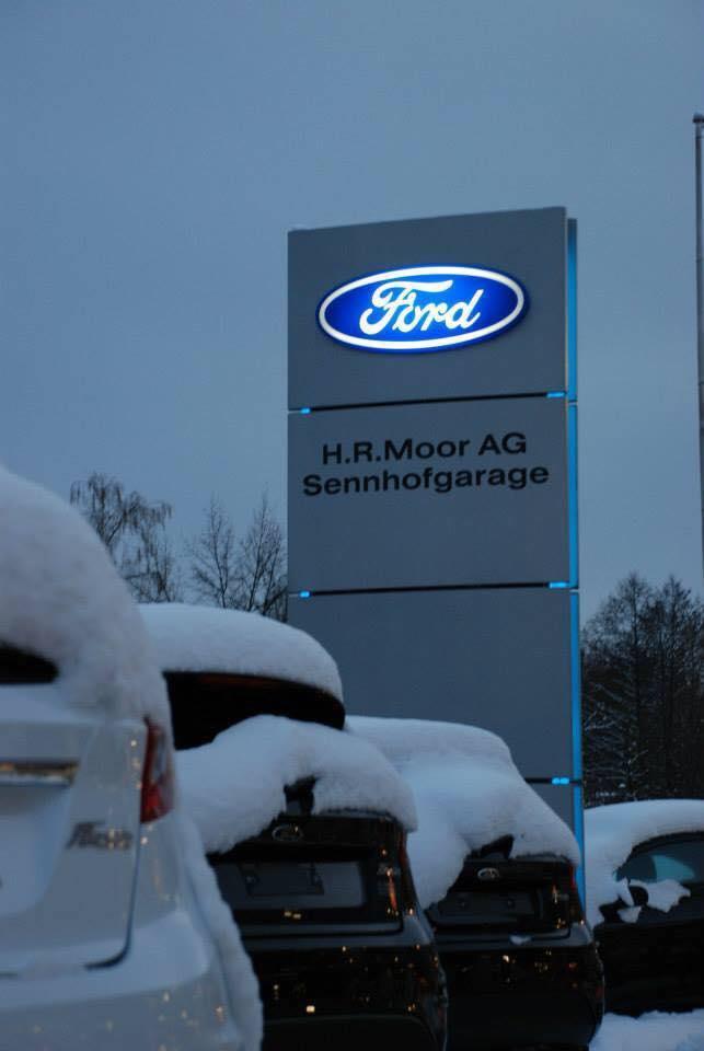 Hansrudolf Moor AG, Sennhofgarage