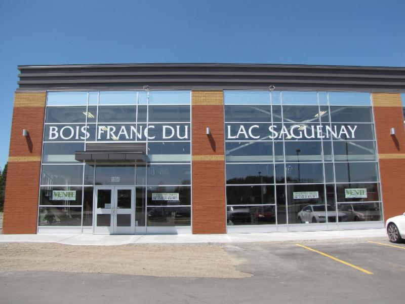 Bois Franc du Lac Saguenay à Chicoutimi
