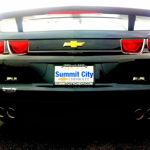 summit city chevrolet in fort wayne in 260 432 0677. Cars Review. Best American Auto & Cars Review