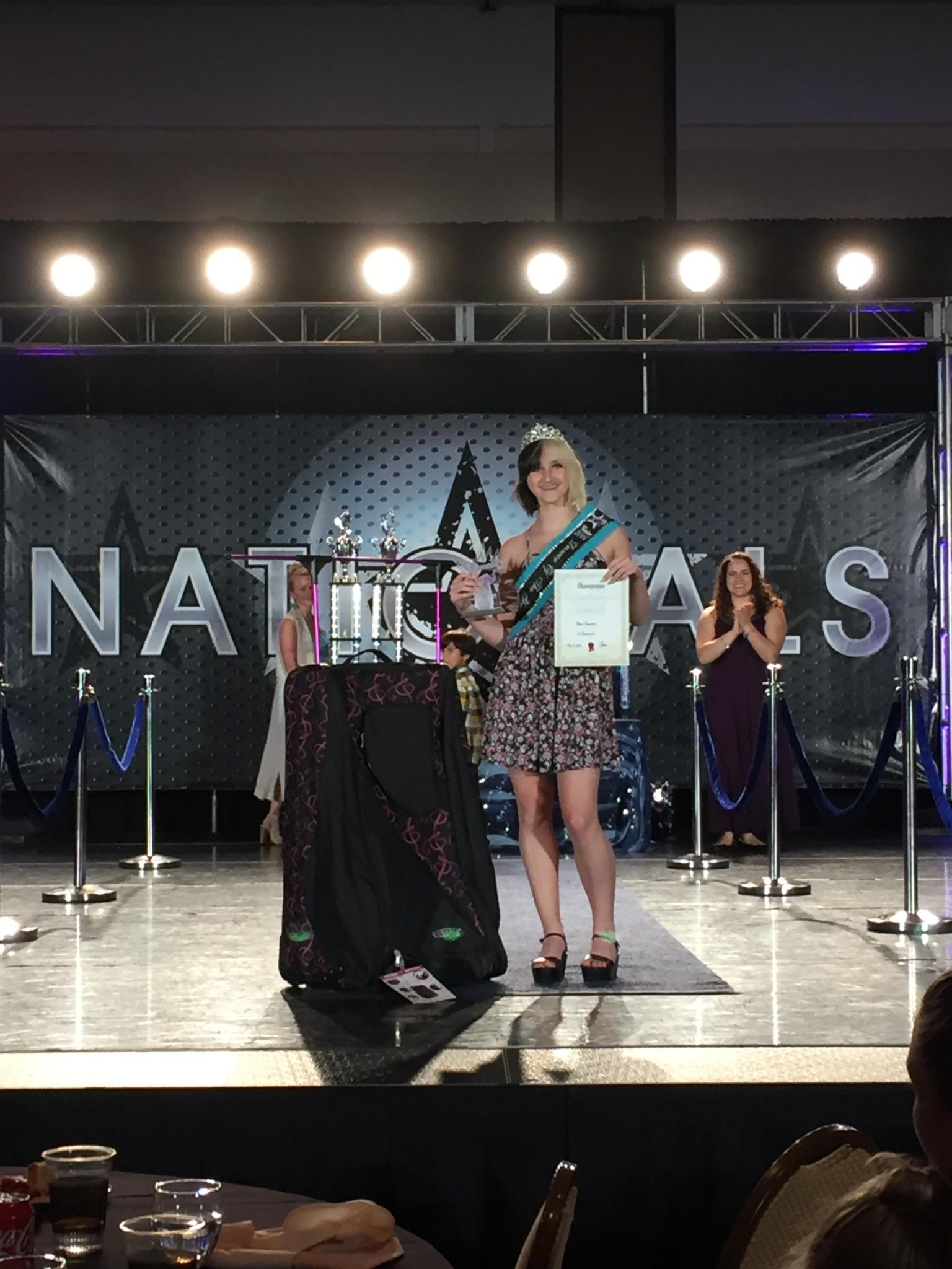 TK Danceworx in Kingston: National Sr Title Winner 2016 Orlando