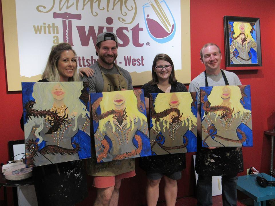 Painting with a twist coupons near me in robinson township for Painting with a twist chicago