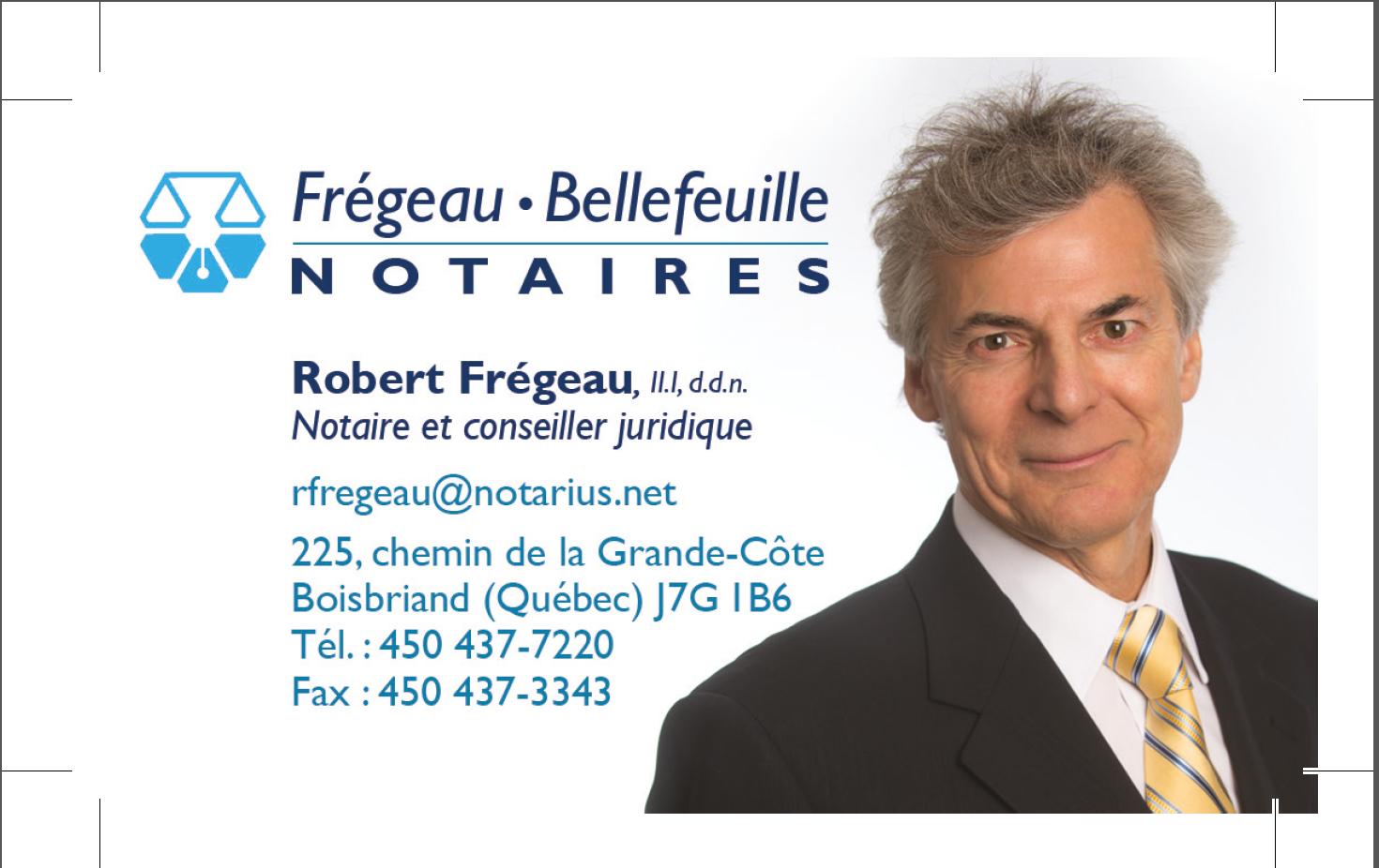 Frégeau & Bellefeuille Notaires Inc à Boisbriand