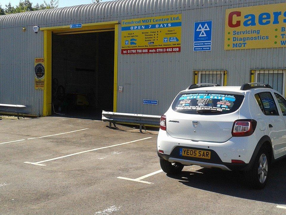 Fendrod mot centre motor vehicle mechanics in swansea Motor vehicle report ga