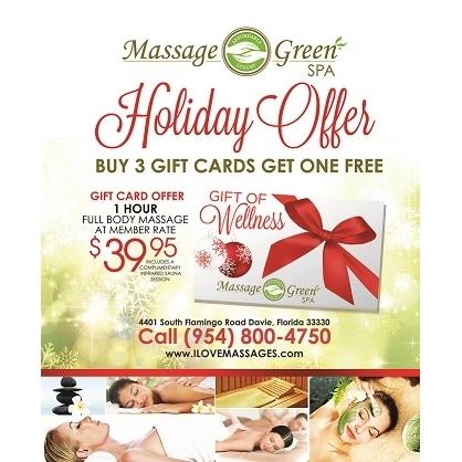 massage green spa davie