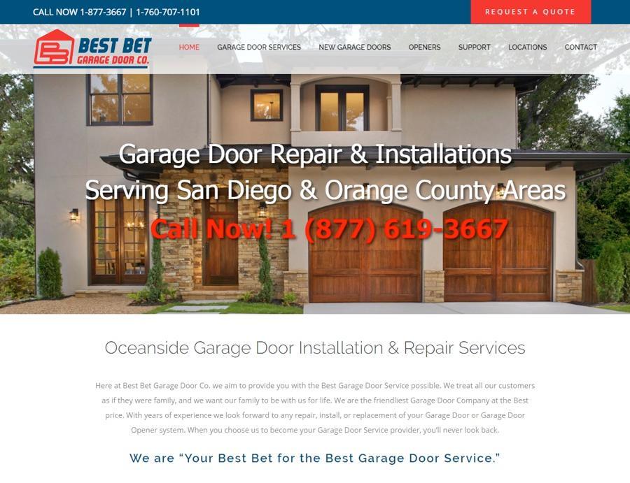 Best Bet Garage Door Repair San Diego U0026 Orange County Ca 2003 S El Camino  Real Suite 118 Oceanside, CA Garage Doors Repairing   MapQuest