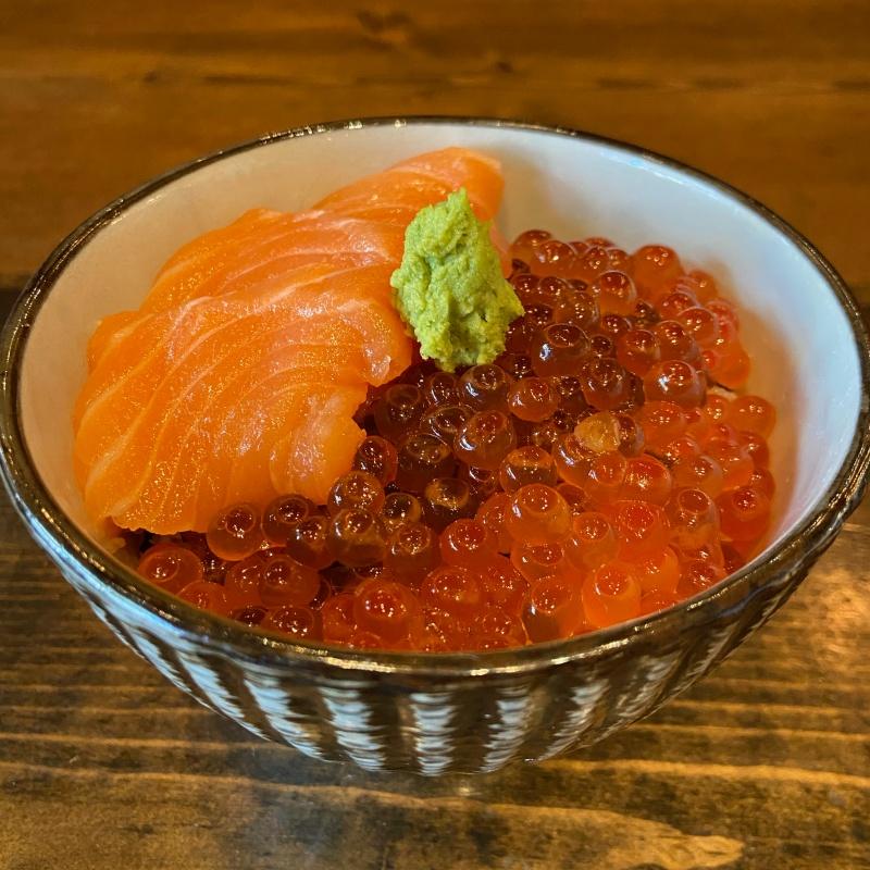 Click to expand image of Salmon & Ikura Bowl