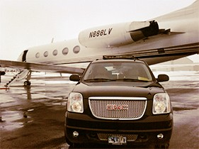 A Black Car Service - ad image