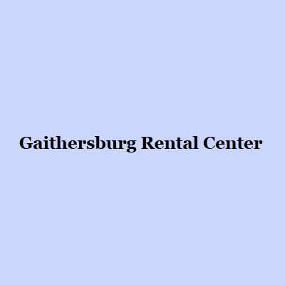 Gaithersburg Rental Center