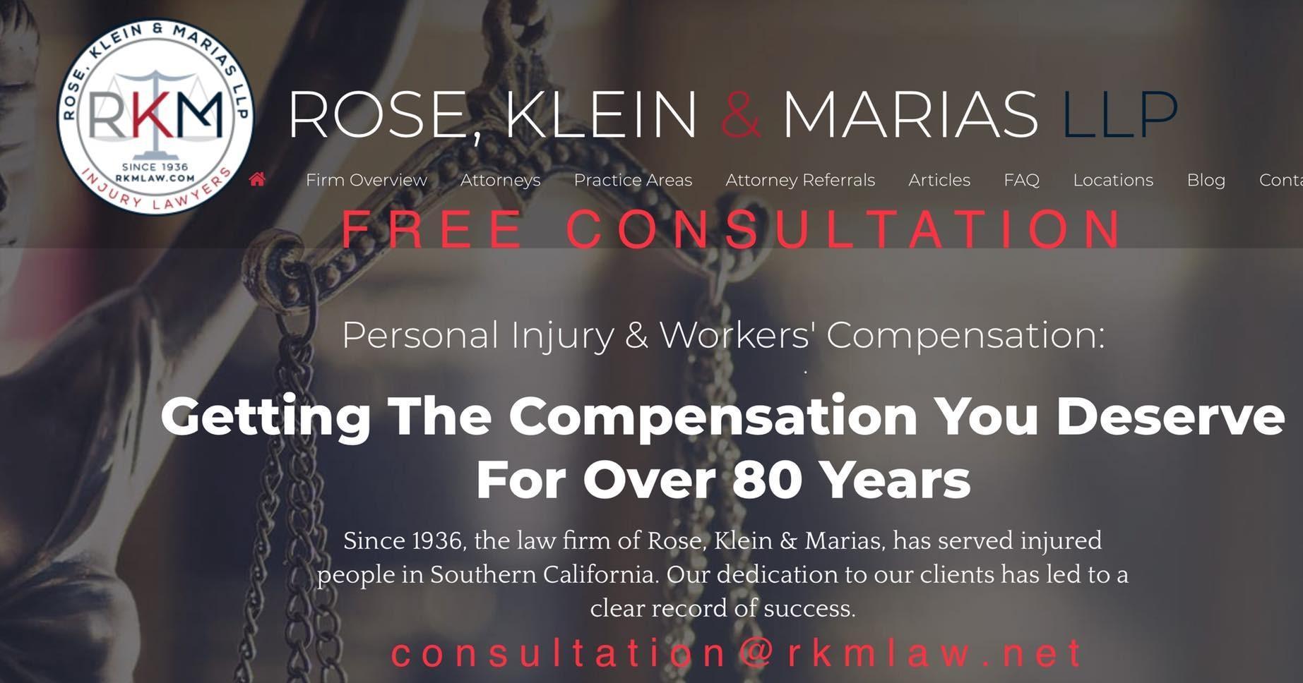 Rose, Klein & Marias LLP - Injury Lawyers image 7