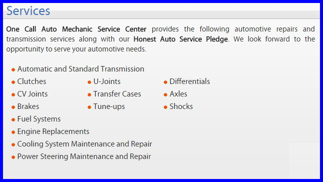 One Call Auto Mechanic image 7