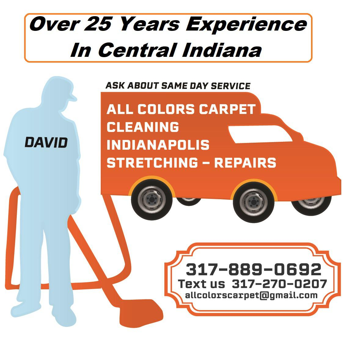 All Colors Carpet Cleaning Indianapolis Stretching-Repairs
