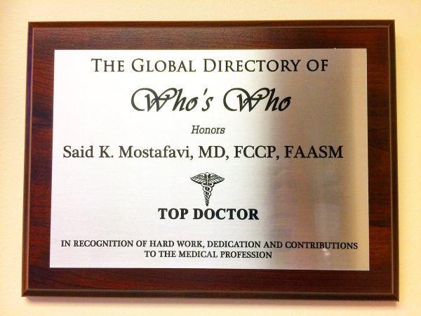 Said Mostafavi MD, FCCP, FAASM, D.AASM image 6