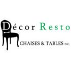 Décor-Resto Chaises Et Tables