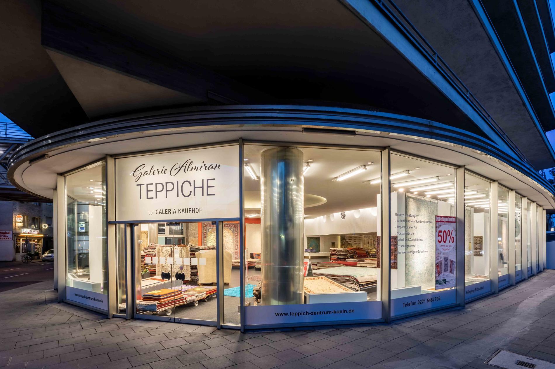 Teppichgalerie Almiran Verkauf&Reparatur&Wäsche Köln Zentrum, An St. Agatha 22, Ecke Cäcilien Straße in Köln