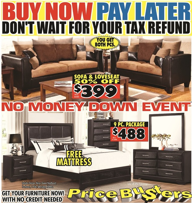 for Furniture buy now pay later