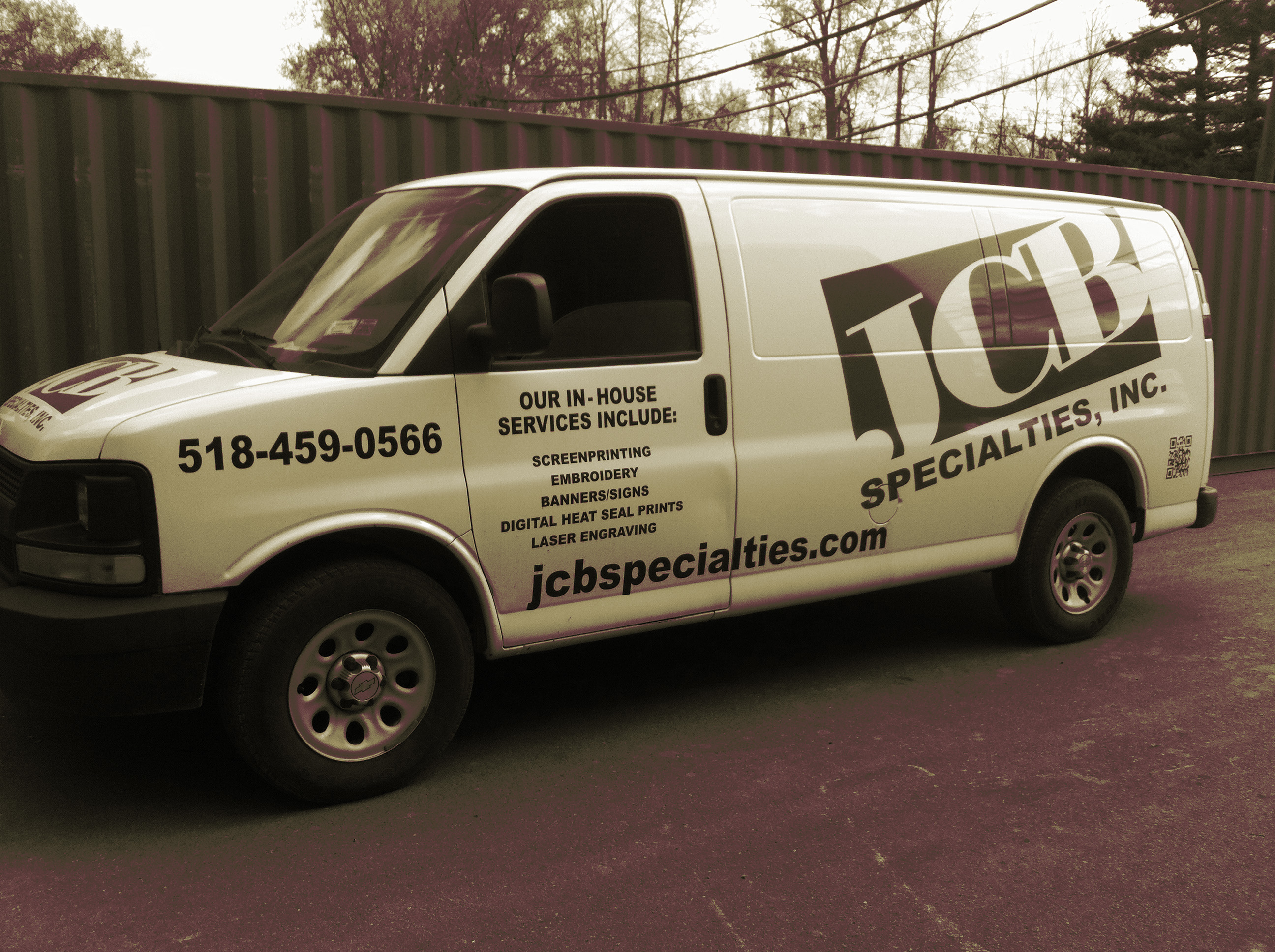 JCB Specialties, Inc  8 Sand Creek Road Albany, NY