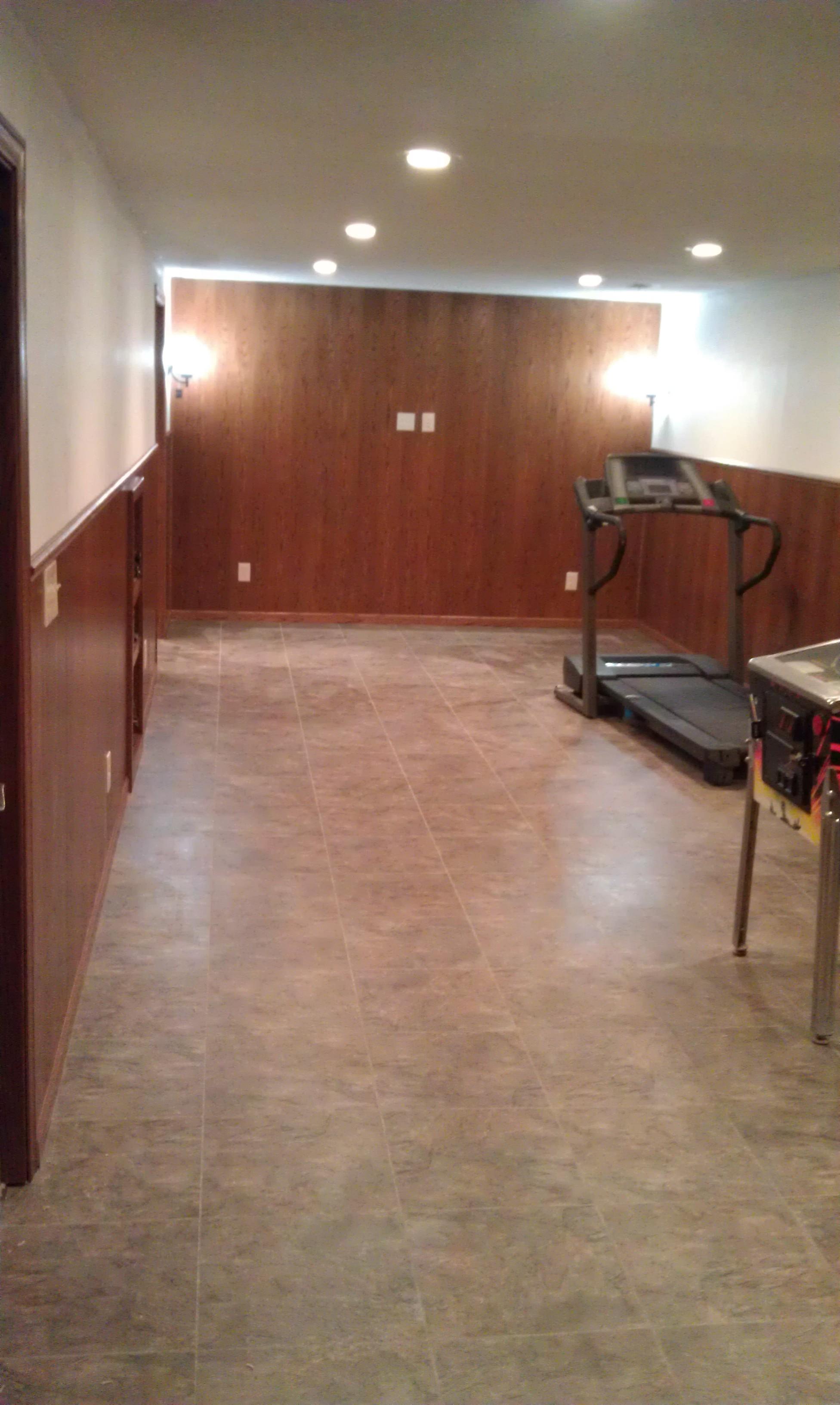 full basement remodel