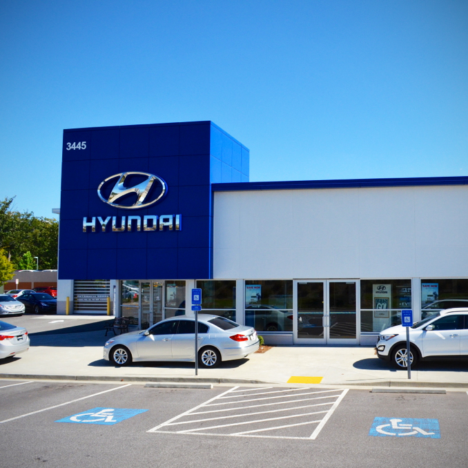 Autonation Hyundai Mall Of Georgia At 3445 Buford Drive