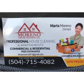 Moreno House Cleaning, LLC
