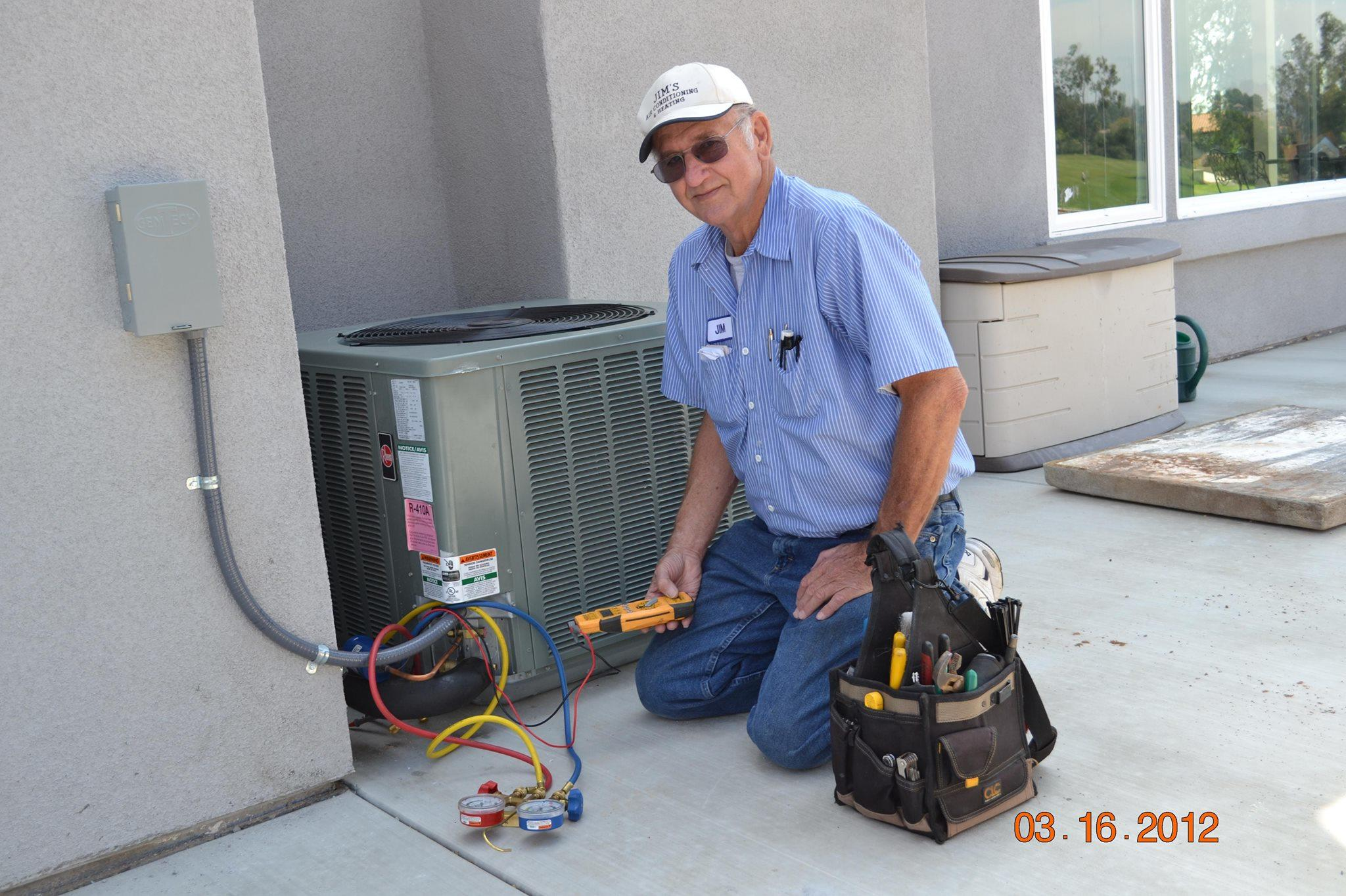 Jims Heating and Air Conditioning image 1