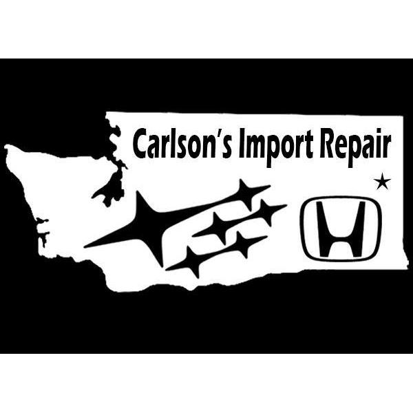 Carlson's Import Repair Specializing in Honda, Acura, Subaru, Toyota and Lexus