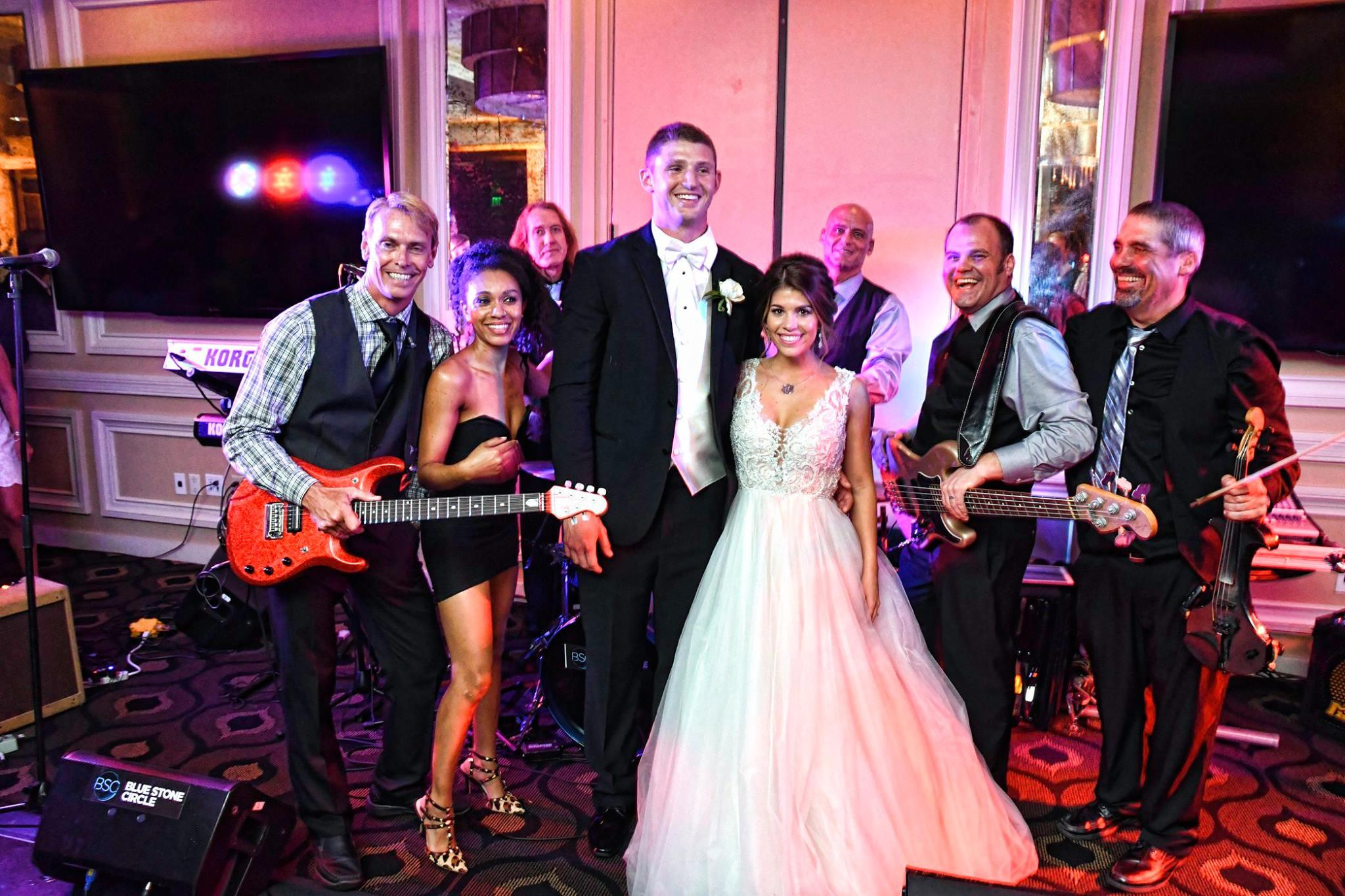 Blue Stone Circle Wedding, Corporate, Special Events Band image 0