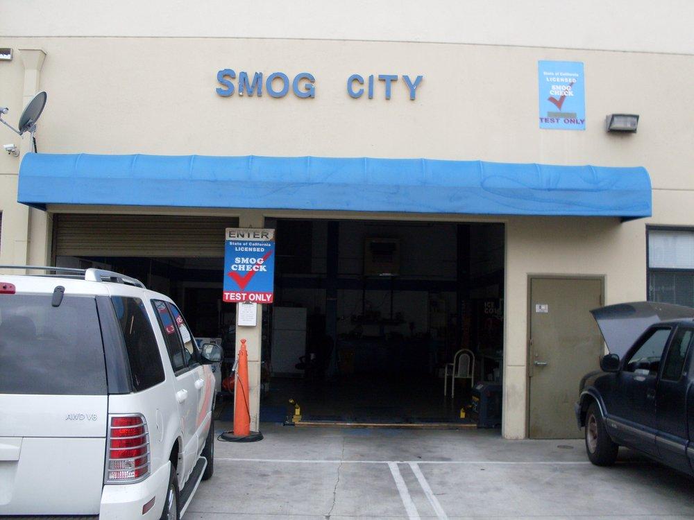 smog city Canoga Park