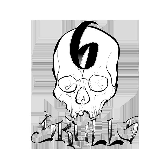 6 Skulls Tattoo
