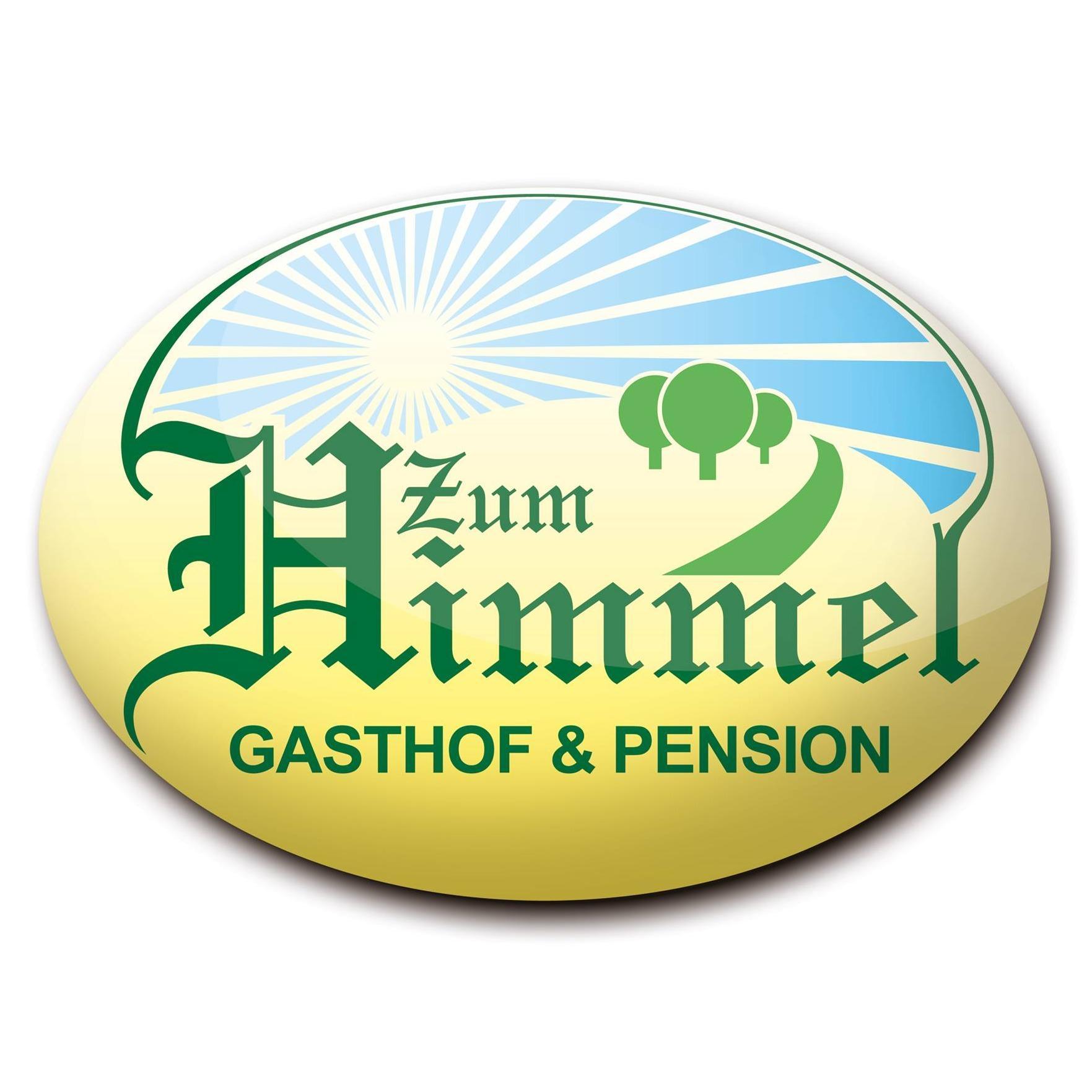 """Logo von Gasthof & Pension """"Zum Himmel"""""""