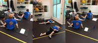 Helping with weight loss and range of motion, wellness, senior and rehabilitation training