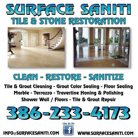 Surface Saniti Tile & Stone Restoration