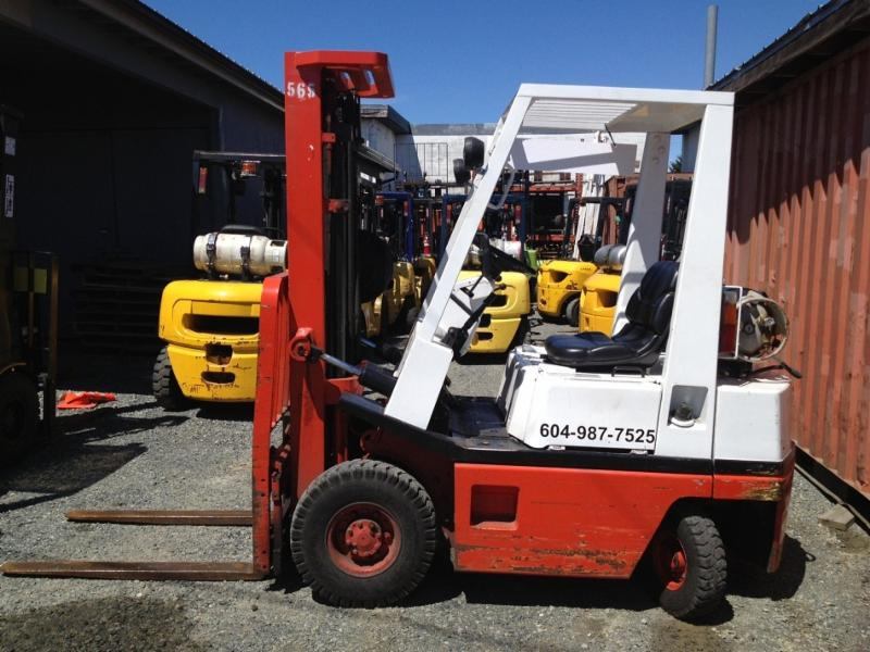 Pacific West Forklift Service Ltd in Nanaimo
