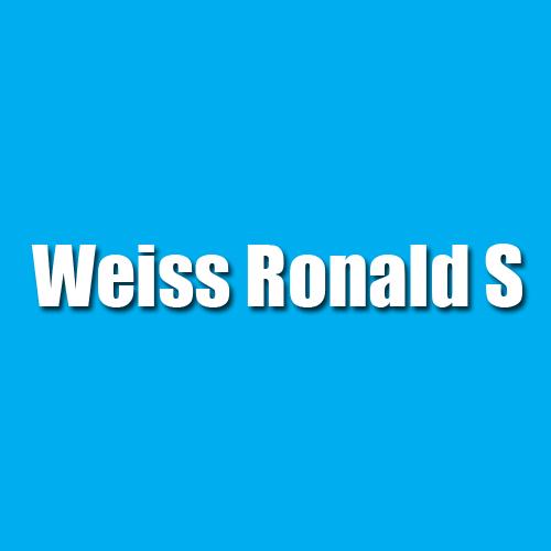 Weiss Ronald S