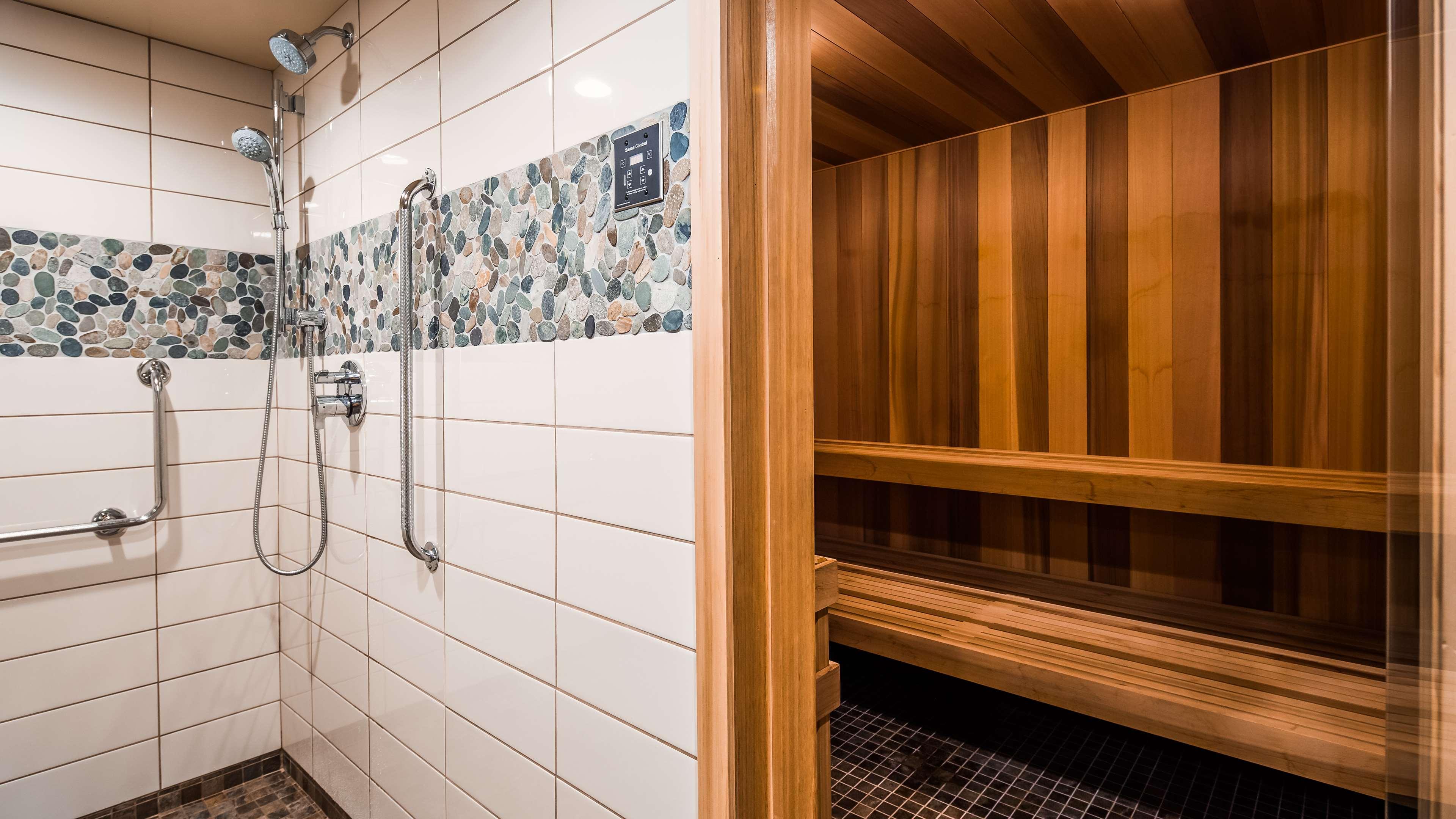 Best Western Plus Barclay Hotel in Port Alberni: Sauna