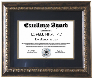 Recognized For Legal Excellence By U.S. Trade & Commerce Research Institute