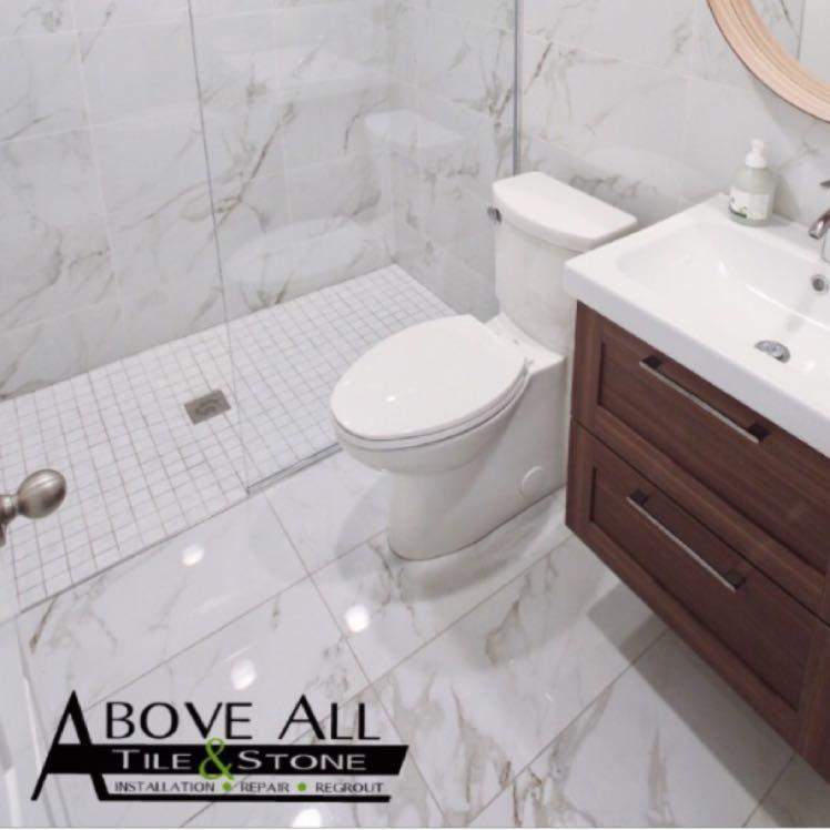 Above All Tile Stone Inc Bathroom Remodeler Brooklyn Park MN - Bathroom remodel brooklyn park mn