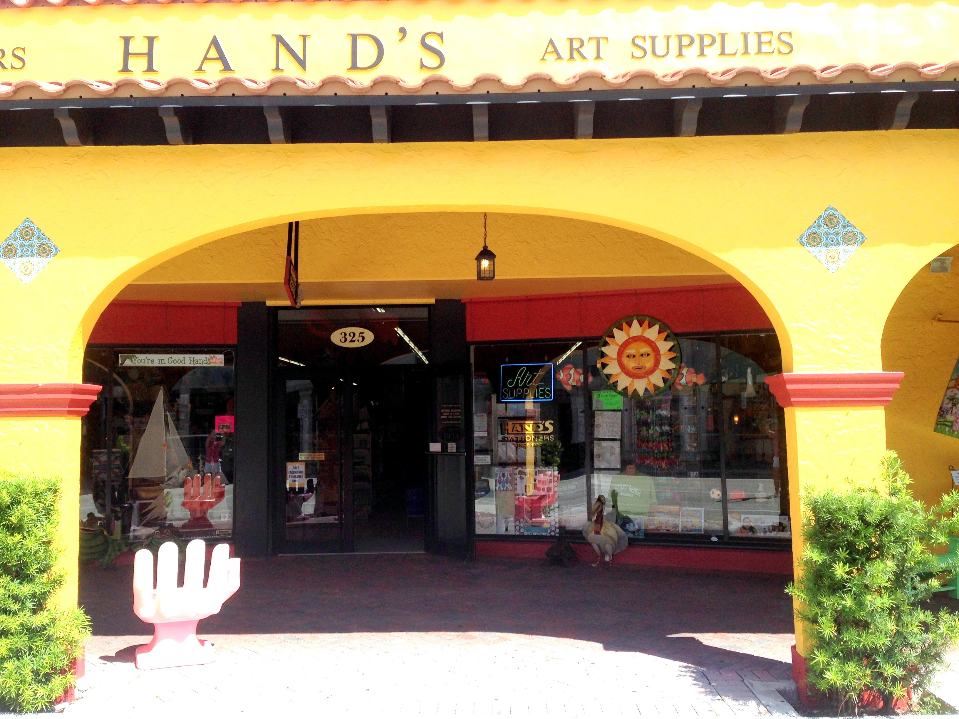 Hand 39 s office art supply coupons delray beach fl near me for Craft supplies stores near me