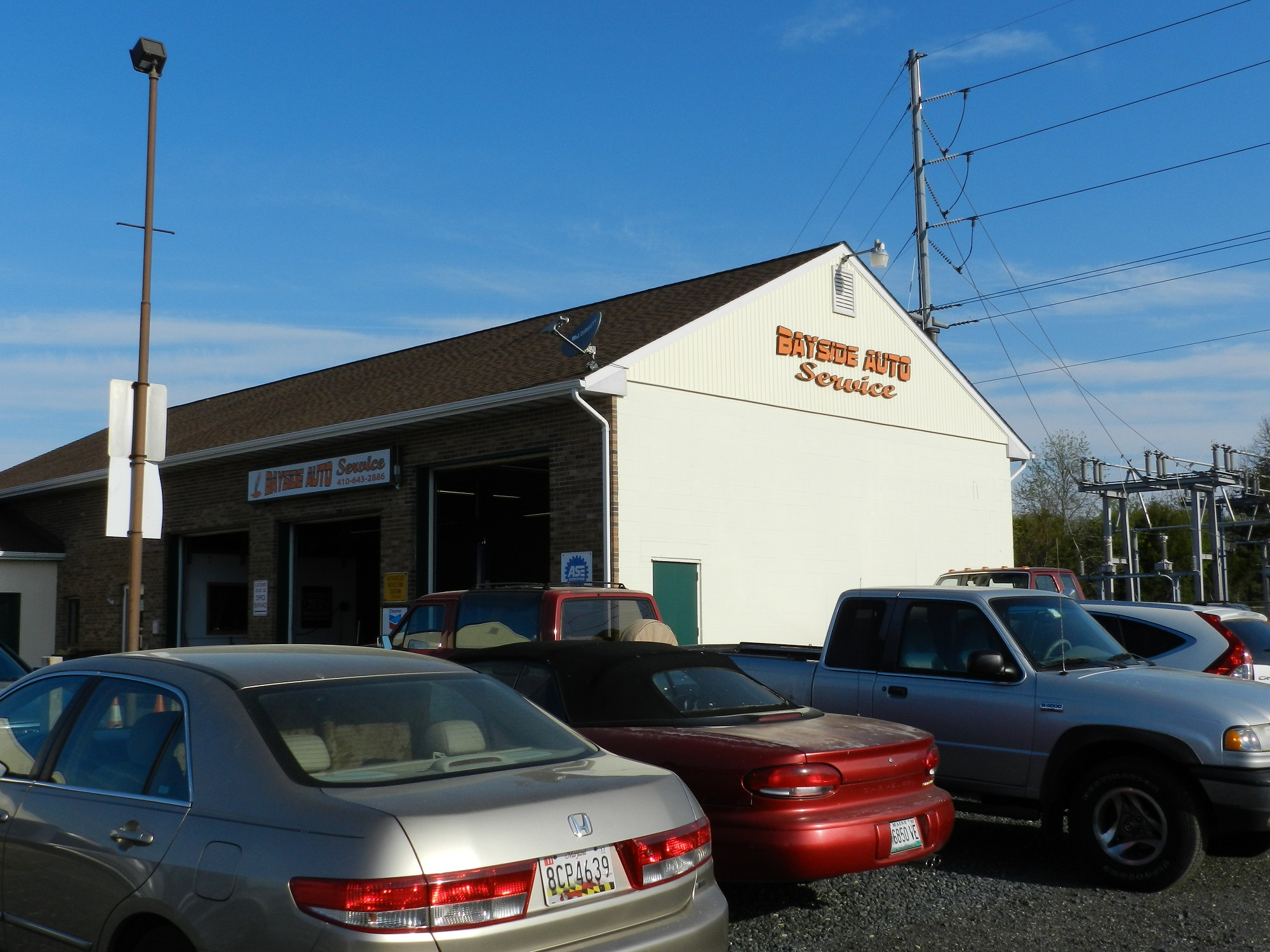 Bayside Auto Service In Stevensville Md 410 643 2