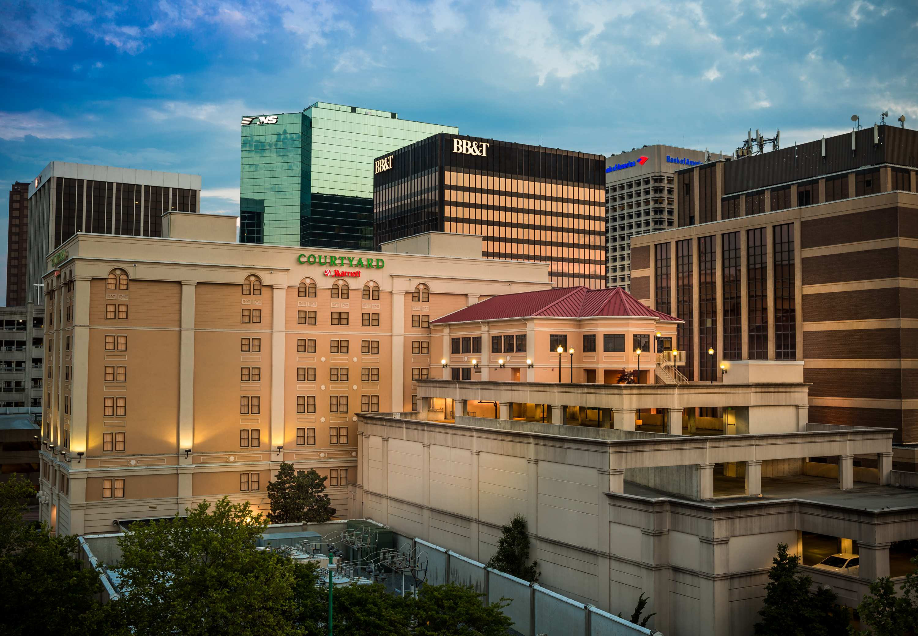 Courtyard by marriott norfolk downtown norfolk va - Wyndham garden norfolk downtown norfolk va ...
