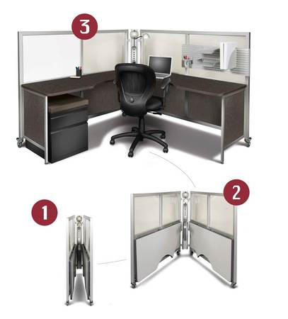 Swift Space mobile work stations