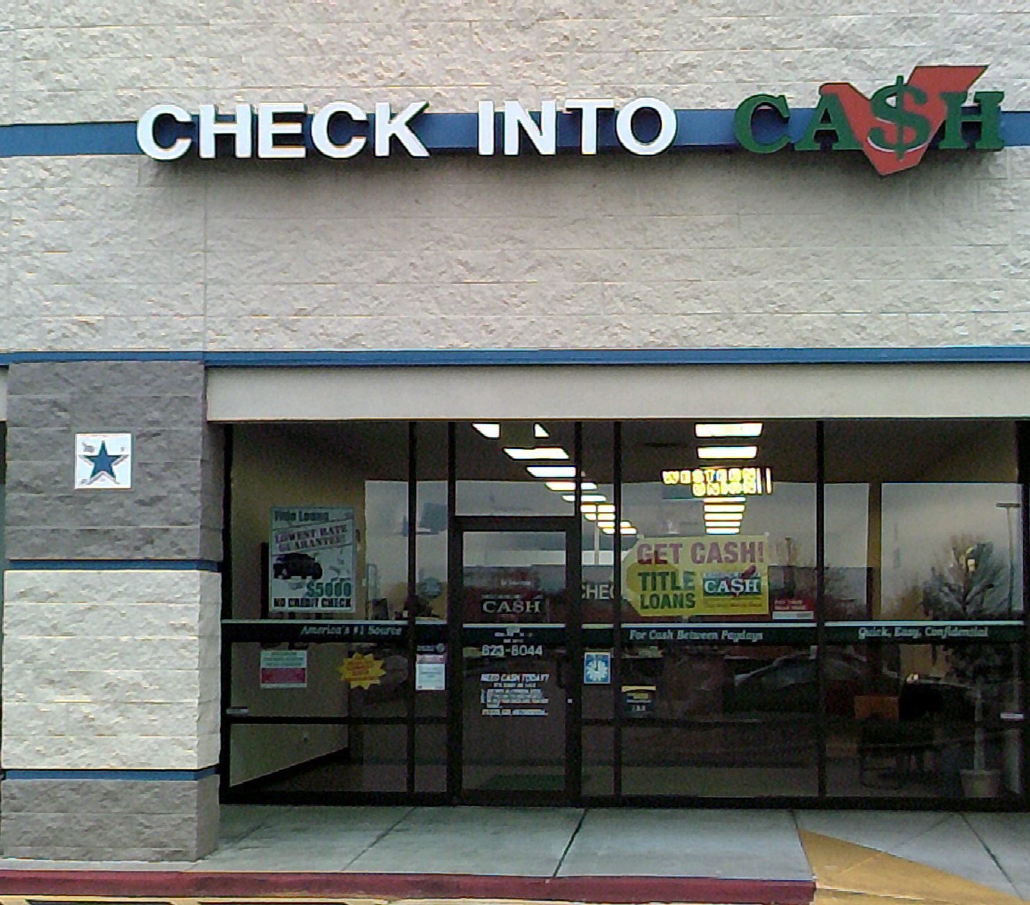 Check into cash in springfield mo 417 823 8 for Business cards springfield mo
