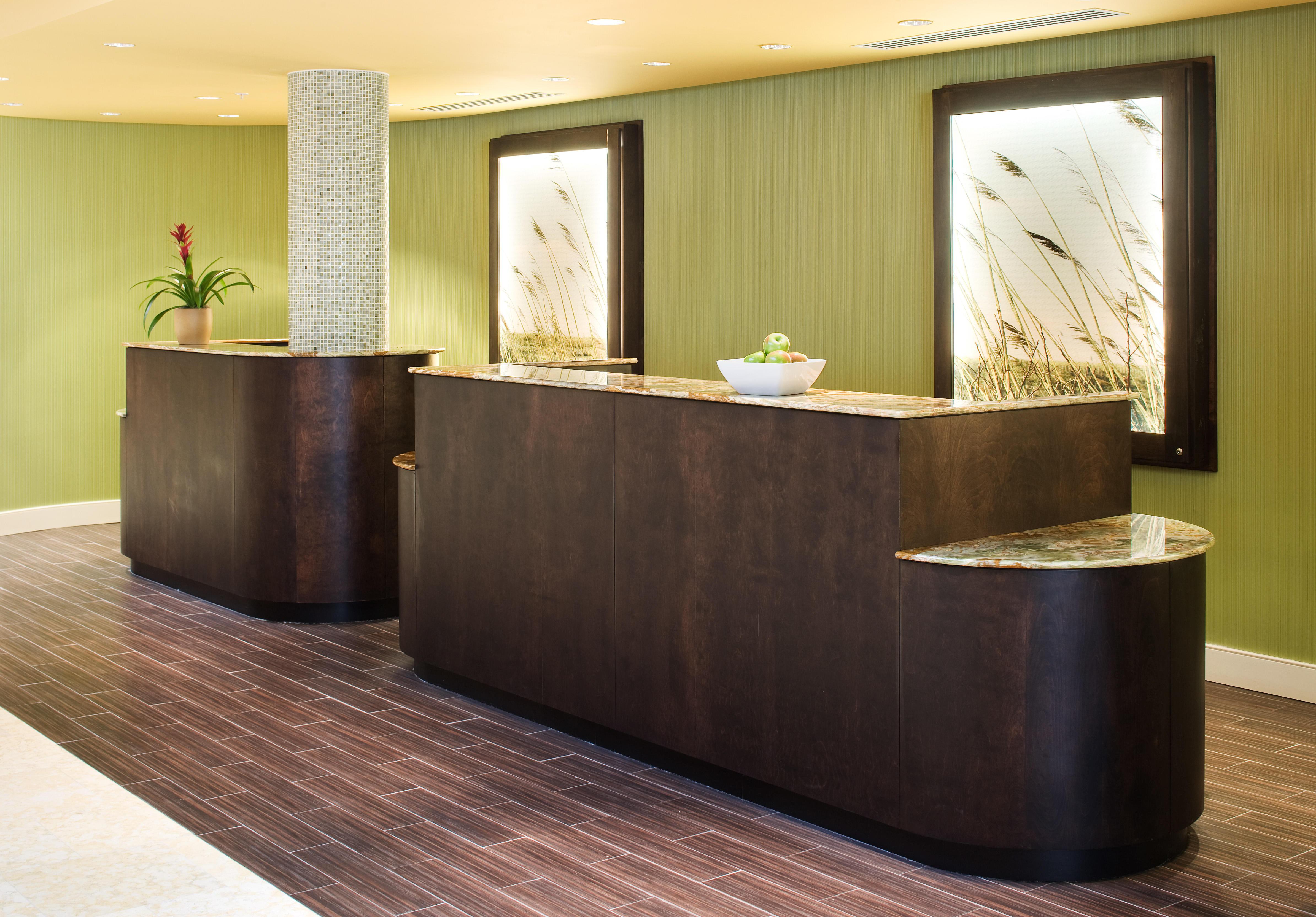 Delta Hotels by Marriott Chesapeake Front Desk Reception