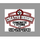 Creative Design Concrete and Stone LLC Logo