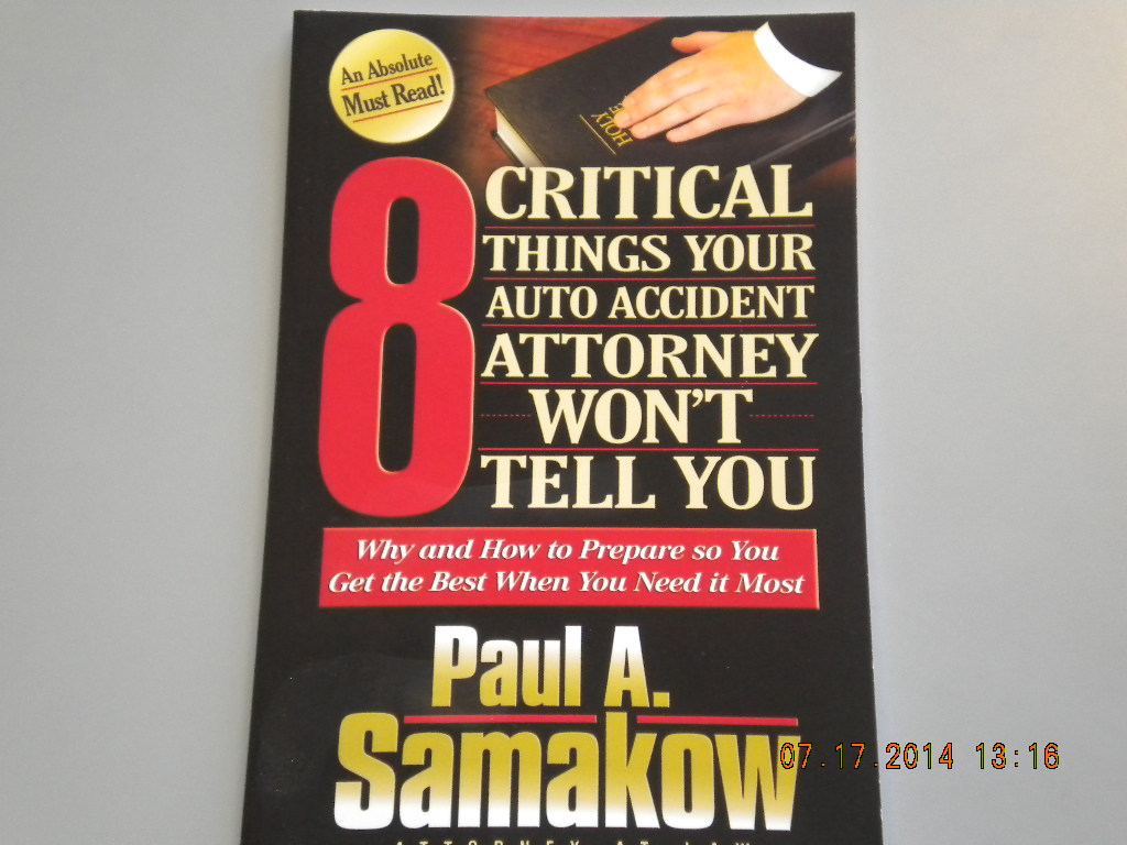 Paul A Samakow, Attorney - ad image