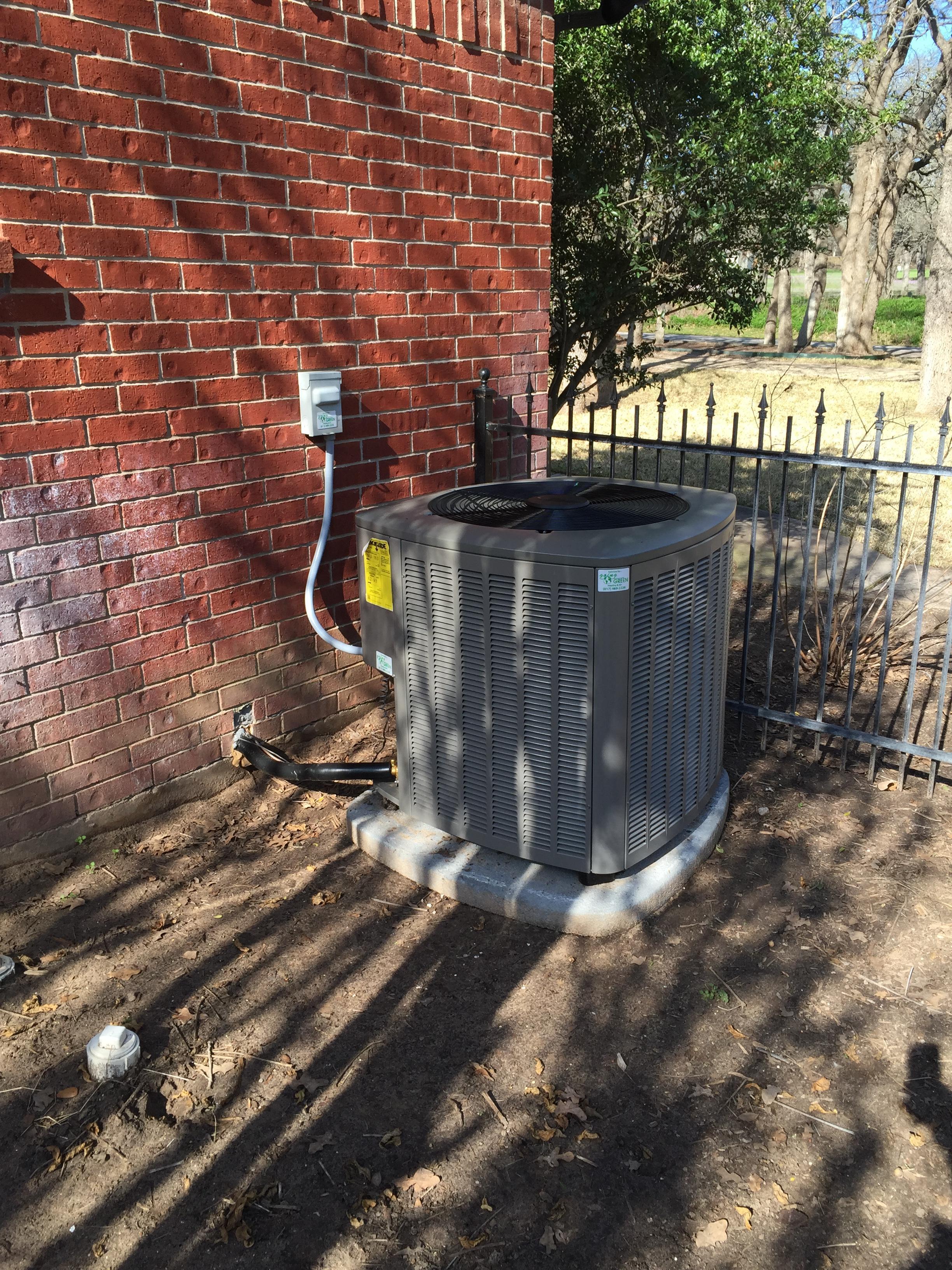 New 16seer heat pump installed this summer